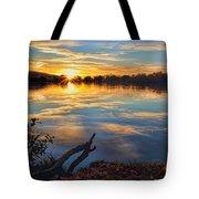 Memorial Park Sunset Tote Bag