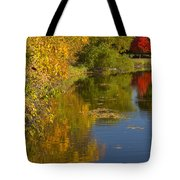 Lake Winona Autumn 13 Tote Bag
