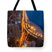 Lakeshore Drive Aloft Tote Bag
