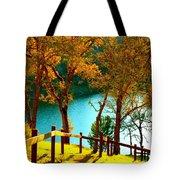 Lakeshore Lane Tote Bag