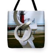 Lakeside Art Tote Bag