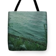 Lakeside At Dusk Tote Bag