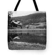 Lakeside Cabin Tote Bag