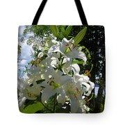 Lakeside Lilies Tote Bag