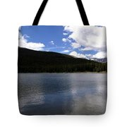Mountain Lakeside Lunch Tote Bag
