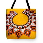 Lakota Souix Dance Collar Tote Bag