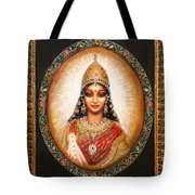 Lakshmi Goddess Of Abundance Tote Bag