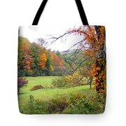 Lamance Valley In The Fall Tote Bag