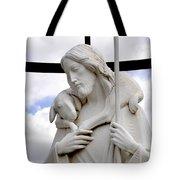 Lamb Of God Jesus Christ Torso Tote Bag