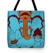 19 Lambakarna-large Eared Ganesha Tote Bag