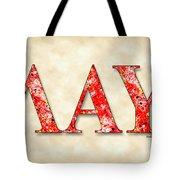 Lambda Alpha Upsilon - Parchment Tote Bag