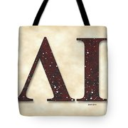 Lambda Iota Society Tote Bag