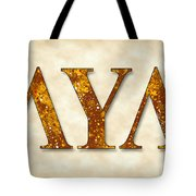 Lambda Upsilon Lambda - Parchment Tote Bag