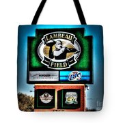 Lambeau Field Entrance Tote Bag