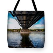 Lambertville From The Shores Of New Hope Tote Bag