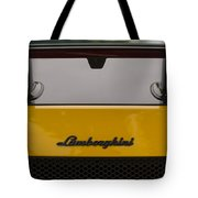 Lambo Logo Yellow Tote Bag