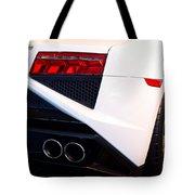 Lamborghini Gallardo Tail Light Pipes Tote Bag
