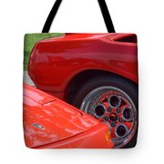 Lamborghini And Lotus Tote Bag