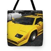 Lamborghini Countach Tote Bag