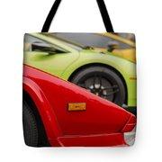 Lamborghini Countach Nose Tote Bag