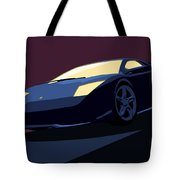 Lamborghini Murcielago - Pop Art Tote Bag