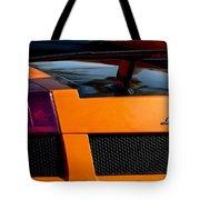 Lamborghini Rear View 2 Tote Bag