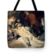 Lament Of Christ Tote Bag
