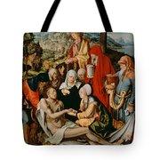 Lamentation For Christ Tote Bag