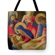 Lamentation Over The Dead Christ Tote Bag