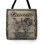 Lamont Grand Vin De Bordeaux  Tote Bag