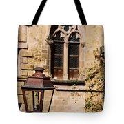 Lamp In Sarlat Tote Bag