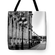 Lamp Post All Lined Up In Order Of Height Tote Bag