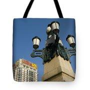 Lamp Post, China Tote Bag