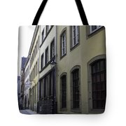 Lamp Post In Cologne Germany Alley Tote Bag