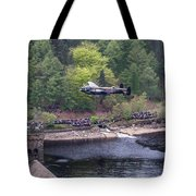Lancaster Bomber 70th Anniversary Flypast Tote Bag