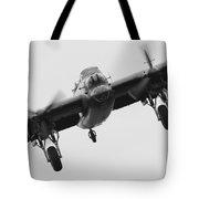 Lancaster Bomber Tote Bag