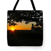 Lancaster County Morning Tote Bag
