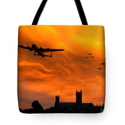 Lancaster Lincoln Sunset Tote Bag