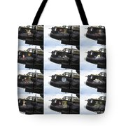 Lancaster Nose Art  Tote Bag