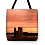 Lancaster Pa Sunset Tote Bag
