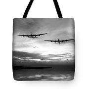 Lancasters Return Mono Version  Tote Bag