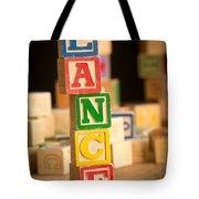 Lance - Alphabet Blocks Tote Bag