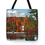 Land Of Lakes Tote Bag