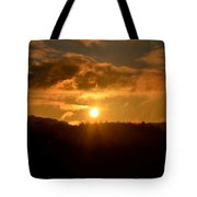 Land Of The Golden Light Tote Bag