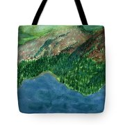 Land Of Time Tote Bag
