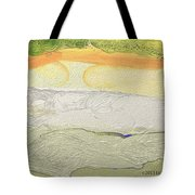 Land Patterns Tote Bag