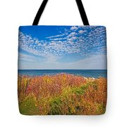 Land Sea Sky Tote Bag