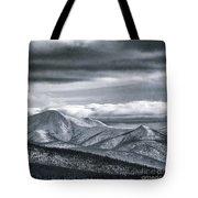 Land Shapes 4 Tote Bag by Priska Wettstein