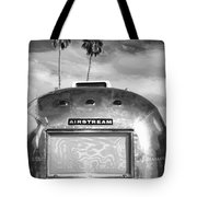 Land Yacht Bw Palm Springs Tote Bag
