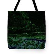 Landcape Glowing Tote Bag